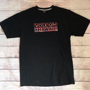 VOLCOM Hawaii black tee